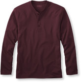 L.L. Bean Pima, Traditional Fit Long-Sleeve Henley