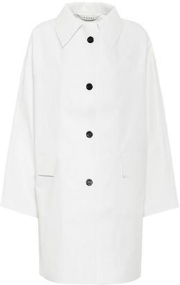 Kassl Editions Original coated cotton coat