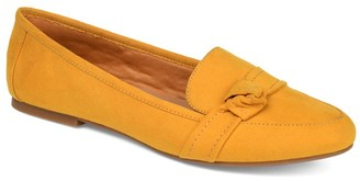 Journee Collection Marci Knotted Strap Loafer