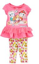 Children's Apparel Network PAW Patrol Pink Nick Top & Yellow Pants - Toddler