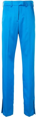MSGM side vent trousers