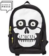 Animal Black Sidekick Skull Backpack