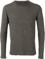 Hannes Roether crewneck slim-fit sweater