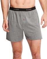Hanes Classics Men's TAGLESS® ComfortSoft® Knit Boxers with Comfort Flex® Waistband 5-Pack