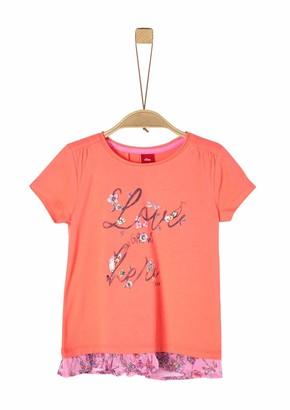 S'Oliver Girls' 403.10.004.12.130.2019953 T-Shirt