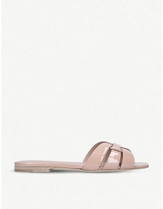 Saint Laurent Nu Pieds 05 patent-leather sandals