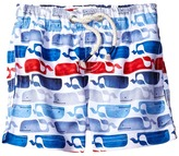 Mud Pie Whale Swim Trunks Boy's Swimwear