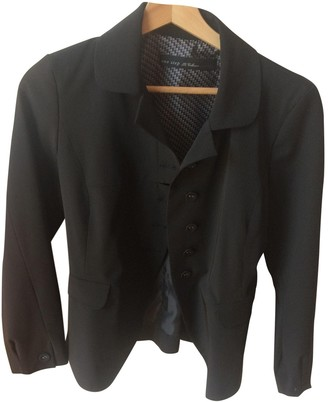 One Step Black Jacket for Women