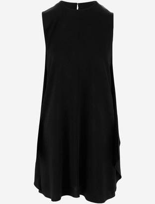 Stella McCartney Black Ruffles Women's Short Dress