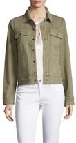 Anine Bing Military Denim Jacket