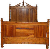 One Kings Lane Vintage 19th-C. Bamboo Bed Frame