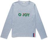 Kule The Modern Long O Joy Top in Heather Grey