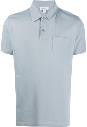Sunspel Riviera short-sleeved polo shirt