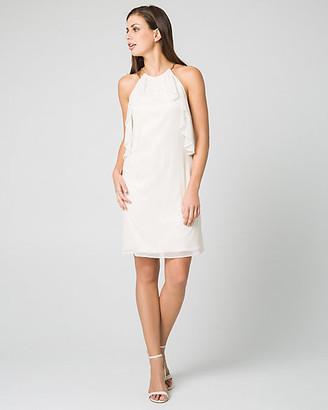 Le Château Foil Knit Convertible Cocktail Dress