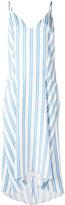Balenciaga striped dress