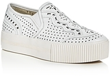 Ash Kingston Perforated Slip-On Platform Sneakers