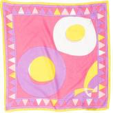 Emilio Pucci Multicolor Geometrical Scarf