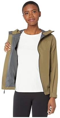 Filson Swiftwater Rain Jacket (Field Olive) Women's Clothing