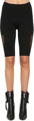 Unravel Active Mesh Biker Shorts