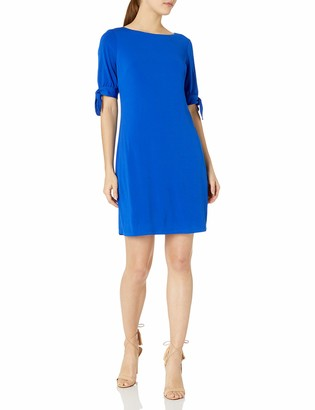 Jessica Howard Women's Tie Sleeve Shift Dress