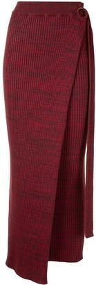ANNA QUAN Matilde wrap skirt