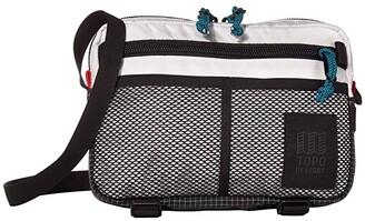 Topo Designs Block Bag (White) Bags