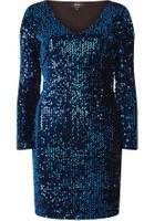 Dorothy Perkins Womens **Only Cobalt Sequin Bodycon Dress
