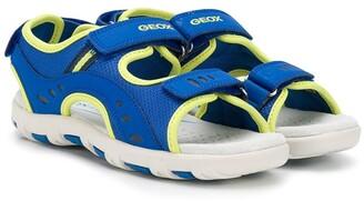 Geox Kids Touch-Strap Logo Sandals