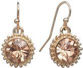 Lauren Conrad Starburst Drop Earrings