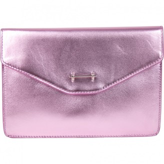 M2Malletier Pink Leather Clutch bags