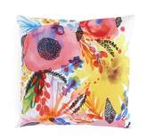 "Minted Throw Pillows Flowers 18"" x 18"
