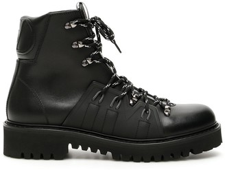 Valentino VLogo Lace-Up Boots