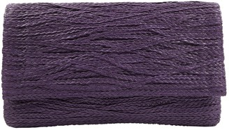 Jay Ahr Purple Leather Clutch bags