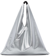 MM6 MAISON MARGIELA Silver Faux-leather Tote