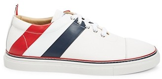 Thom Browne Straight Toe Cap Trainers