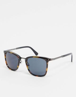A. J. Morgan AJ Morgan square sunglasses in tort