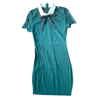 Sandro Spring Summer 2019 Green Viscose Dresses
