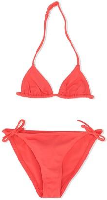 Bonpoint x Eres cherry logo bikini set