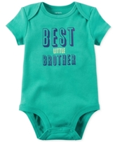 Carter's Best Little Brother Cotton Bodysuit, Baby Boys (0-24 months)
