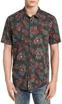 RVCA McMillan Floral Woven Shirt