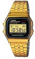 Casio Men's Core A159WGEA-1 Digital Stainless-Steel Quartz Watch