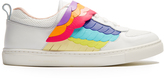 Sophia Webster Fire Bird low-top leather trainers