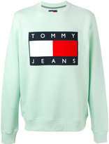 Tommy Hilfiger classic logo printed sweatshirt - men - Cotton/Polyester - S