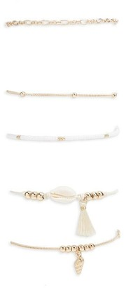 Forever 21 Layered Bracelet Set