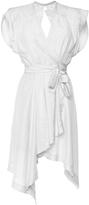 Isabel Marant Lief Asymmetric Wrap Dress