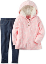 Carter's 2-Pc. Horse-Print Hoodie & Jeggings Set, Baby Girls (0-24 months)