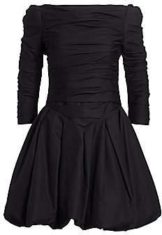KHAITE Women's Minnie Puff Sleeve Fit-&-Flare Dress - Size 0