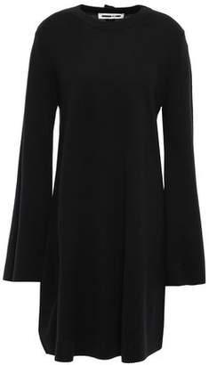 McQ Button-embellished Wool Dress