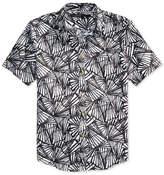 Sean John Men's Palm Print Linen Shirt, Created for Macy's