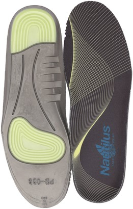Nautilus Women's Memory Foam and Gel Impact Insoles Health Care and Food Service Shoe